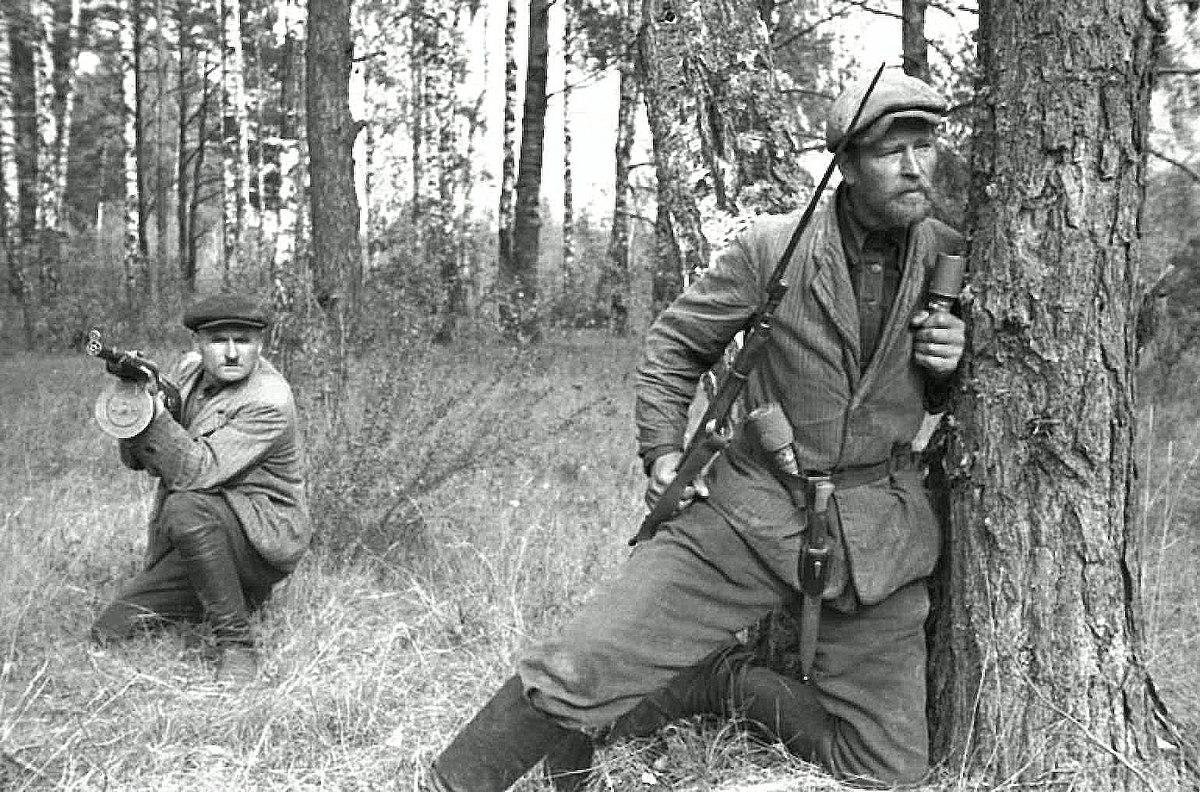 партизаны великой отечественной войны