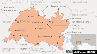регион республика татарстан