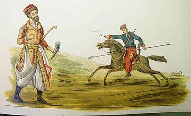 откуда взялись казаки