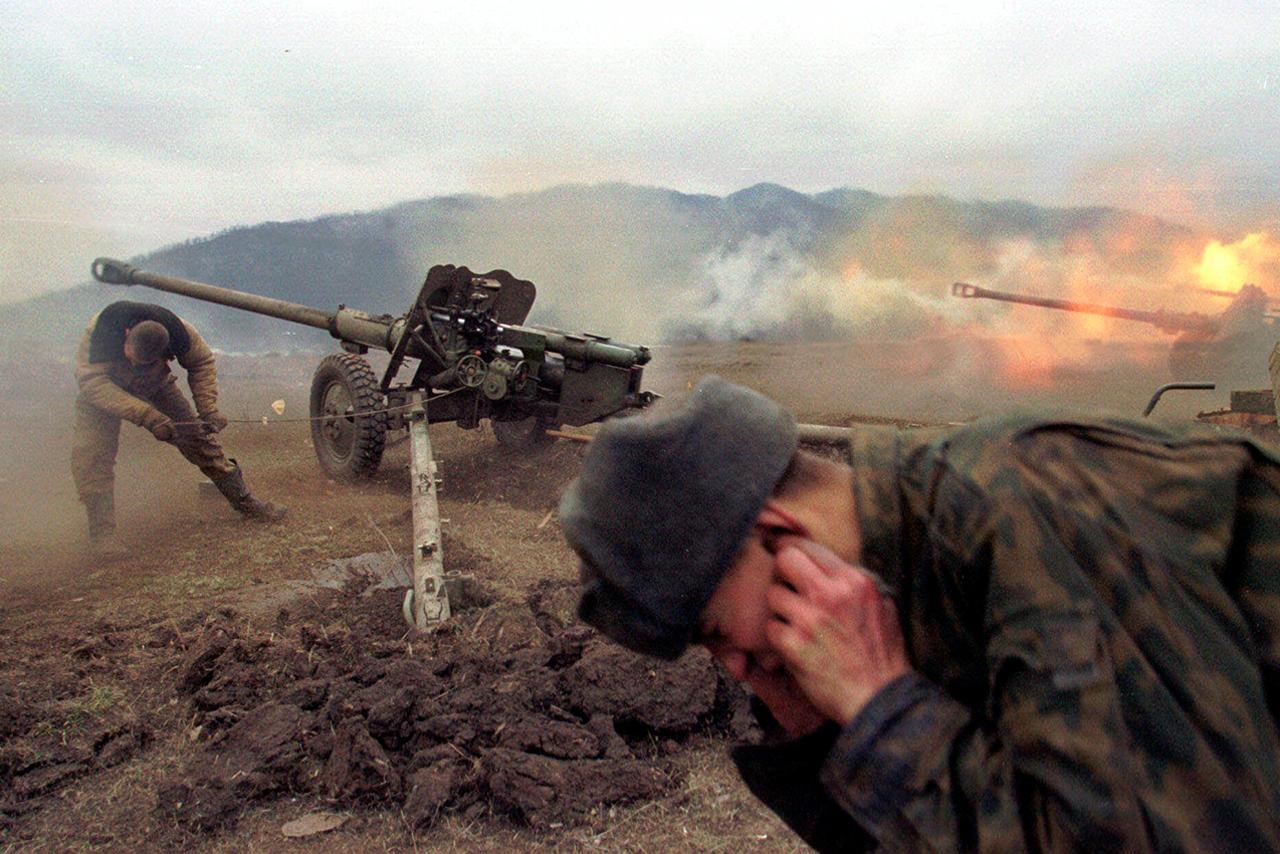 потери во второй чеченской войне