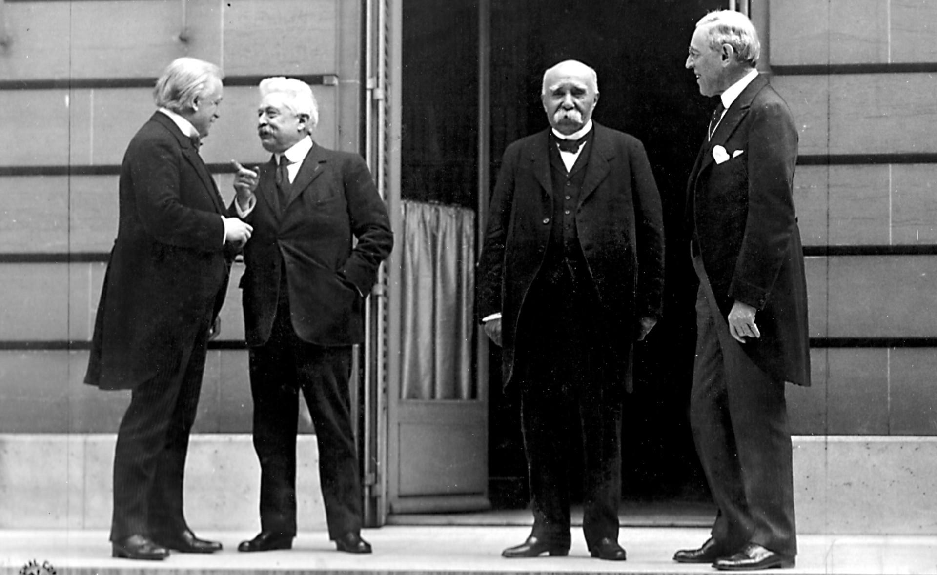 версальская конференция кратко