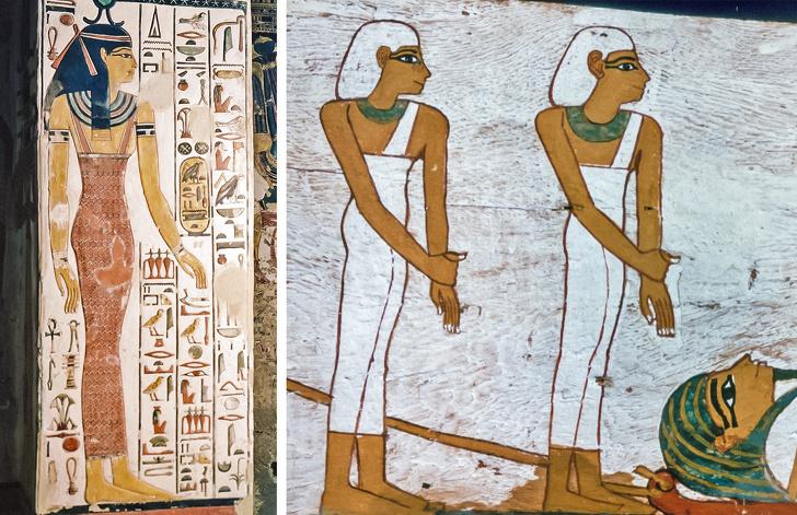 египетский стиль в одежде