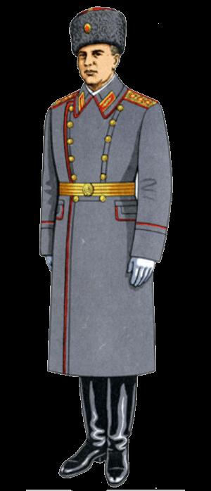 форма советского офицера