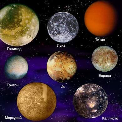 сколько естественных спутников у венеры