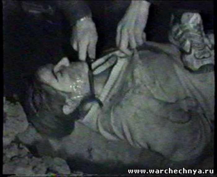казнь солдат в чечне