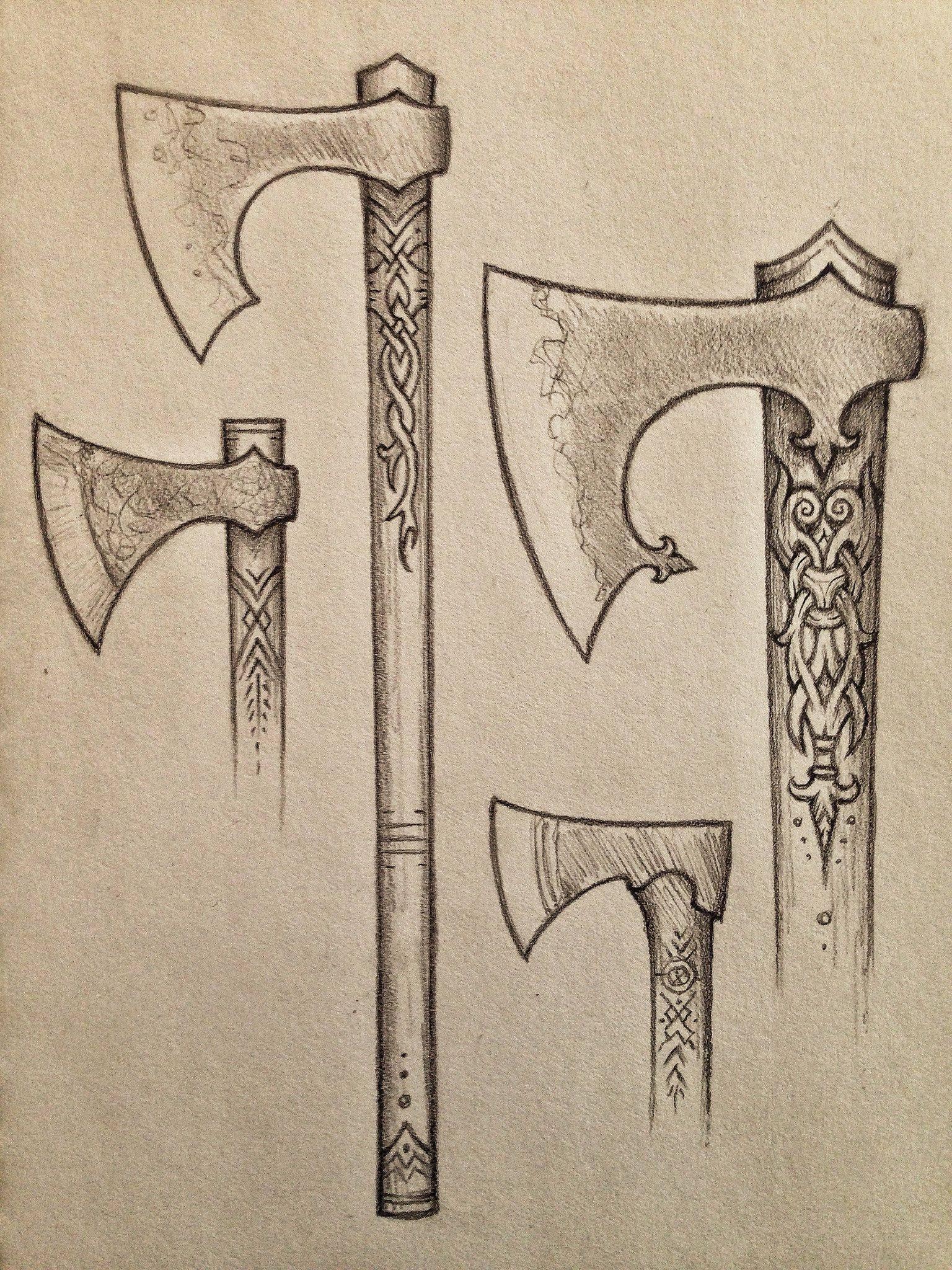 топор викинга фото