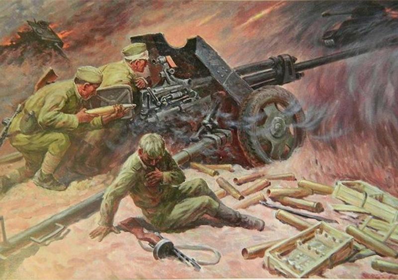великая отечественная война в живописи