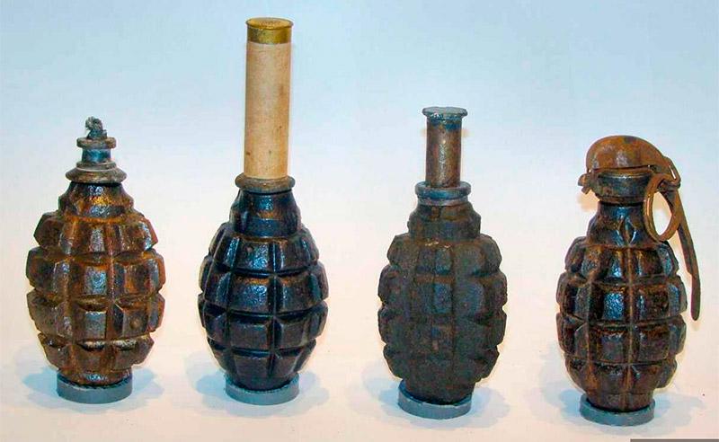 классификация ручных гранат