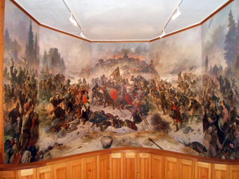 оборона козельска 1238