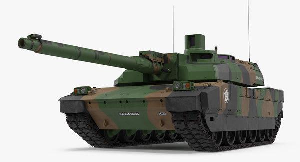французский танк леклерк