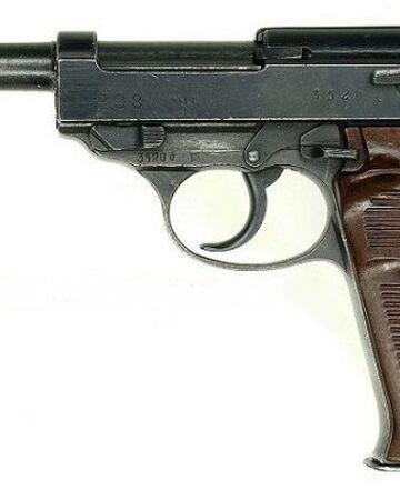 вальтер пистолет боевой