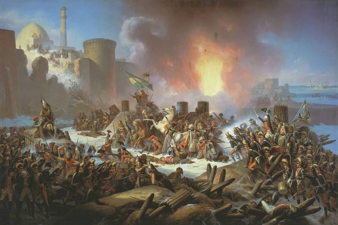 взятие крепости нотебург