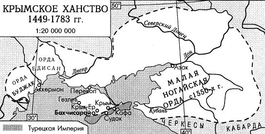 сообщение крымское ханство 7 класс