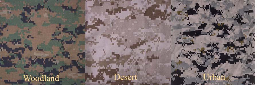 песчаный камуфляж
