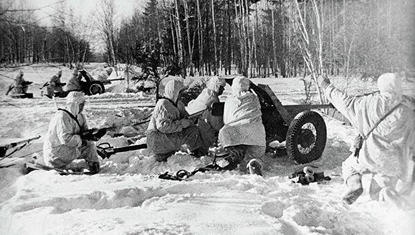 начало контрнаступления красной армии под москвой