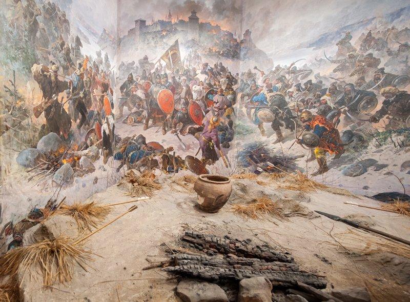 оборона козельска от войск батыя