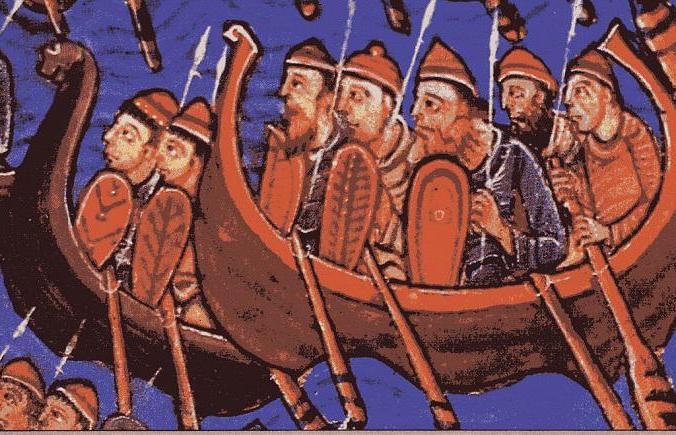 викинги откуда родом