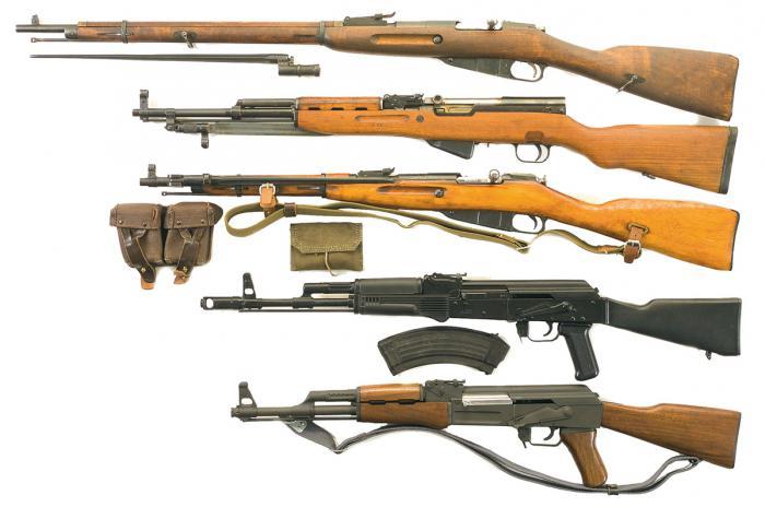 нарезное охотничье ружье