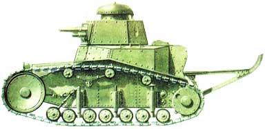 кто создал первый танк