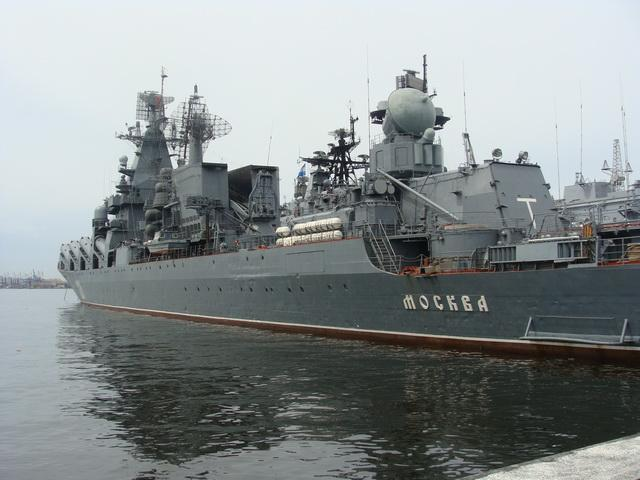 флагман черноморского флота крейсер москва