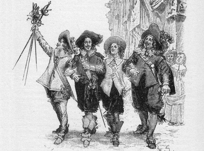 три мушкетера книга читать
