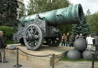 в каком веке была создана царь пушка