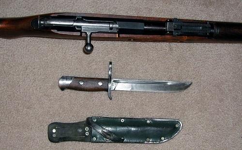штык нож трехлинейки