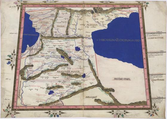 старая карта армении