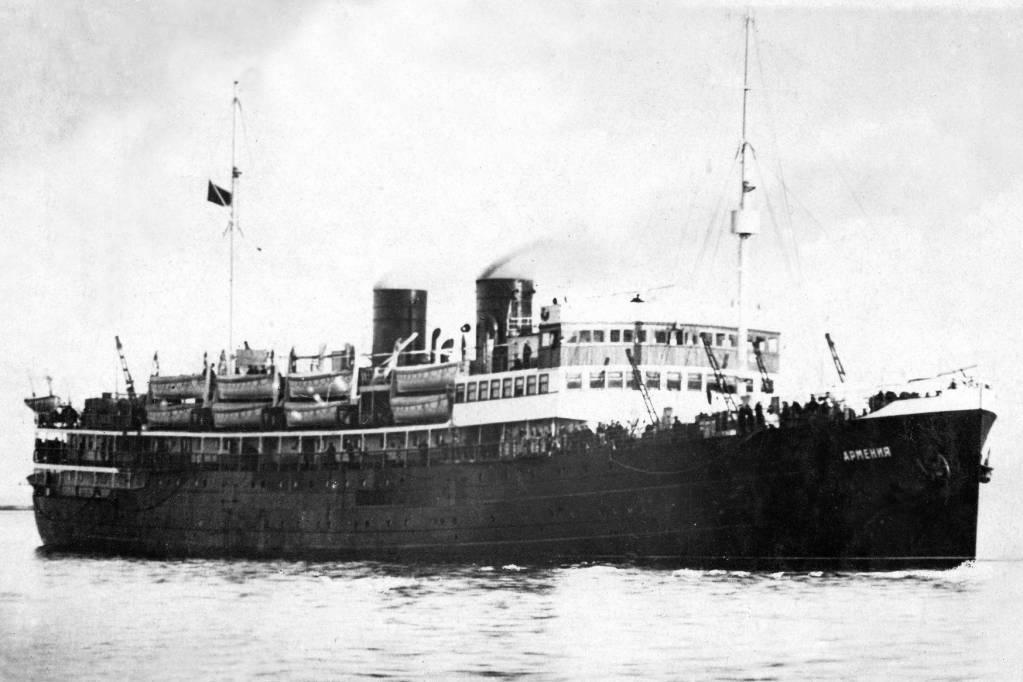 густлов корабль