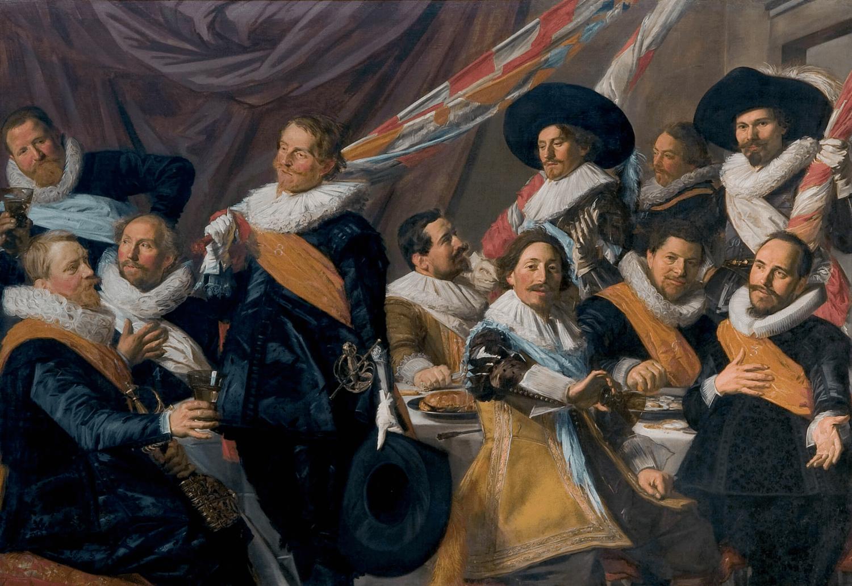 рембрандт ночной дозор описание картины