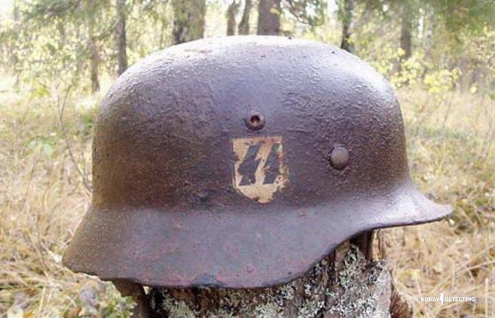 немецкая каска второй мировой войны
