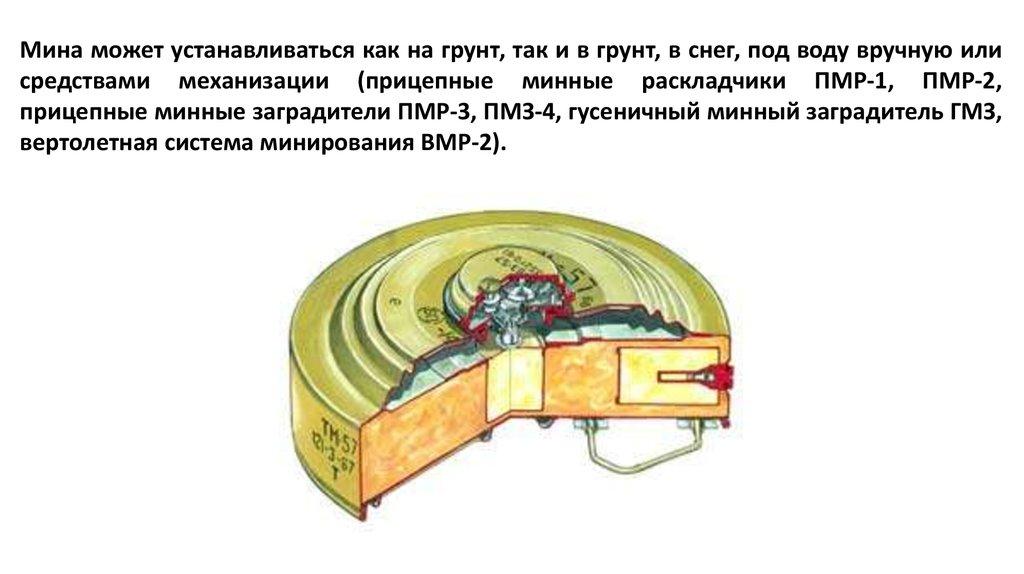 немецкая противотанковая мина