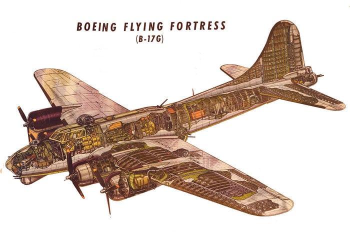 б 17 летающая крепость