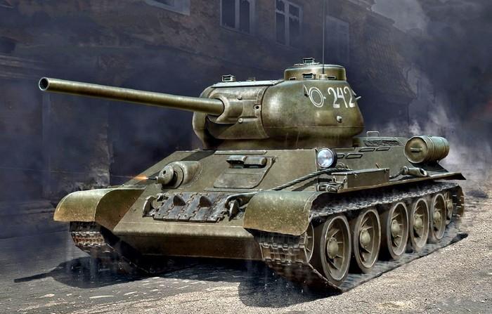 как выглядит танк т 34