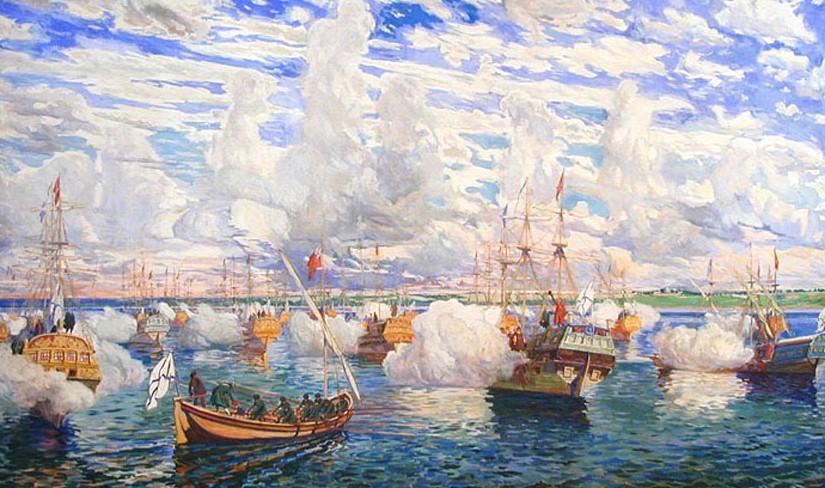 кто стал создателем военно морского флота россии