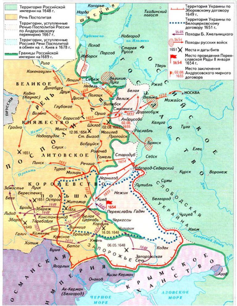 1609 год в истории россии