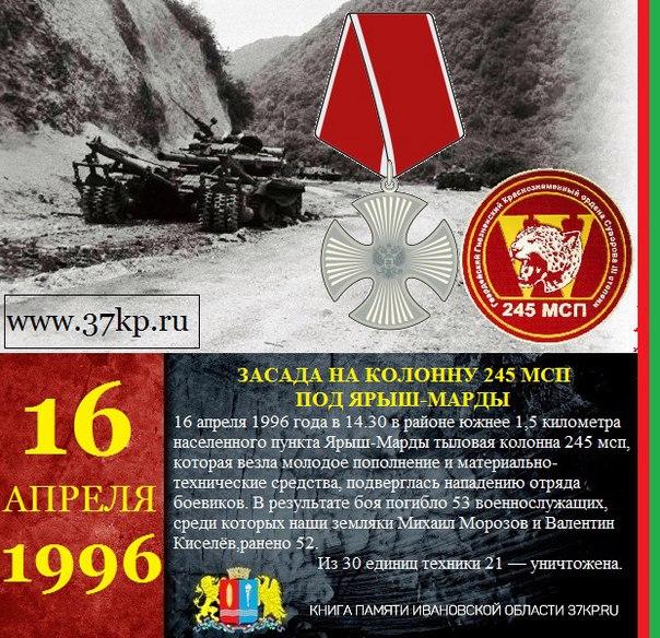 245 мотострелковый полк в чечне
