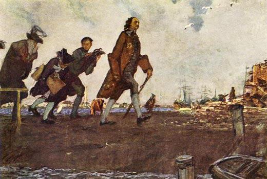 строительство санкт петербурга при петре 1