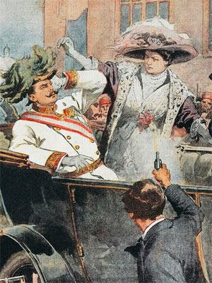 убийство эрцгерцога франца дата