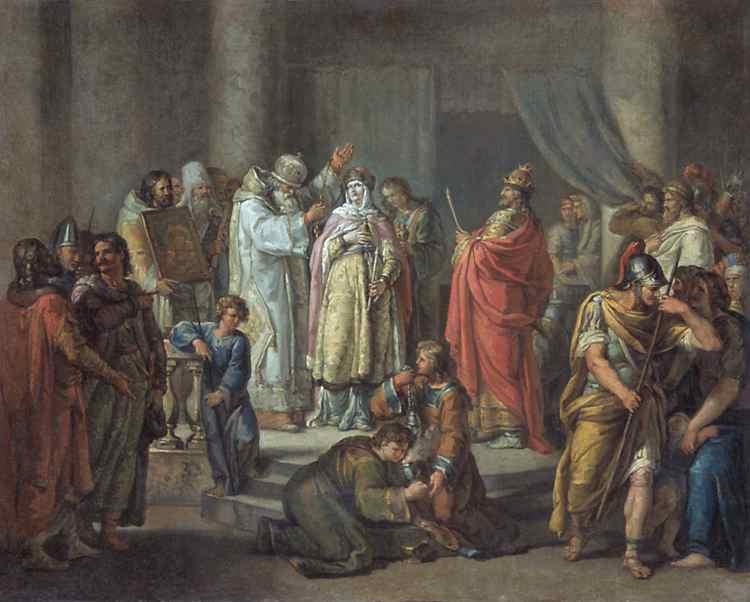 крещение князя владимира год