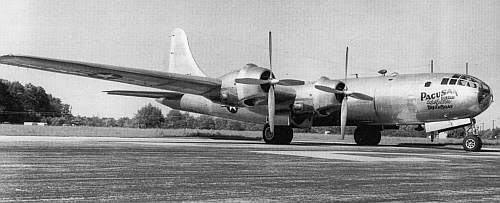 b 29 бомбардировщик