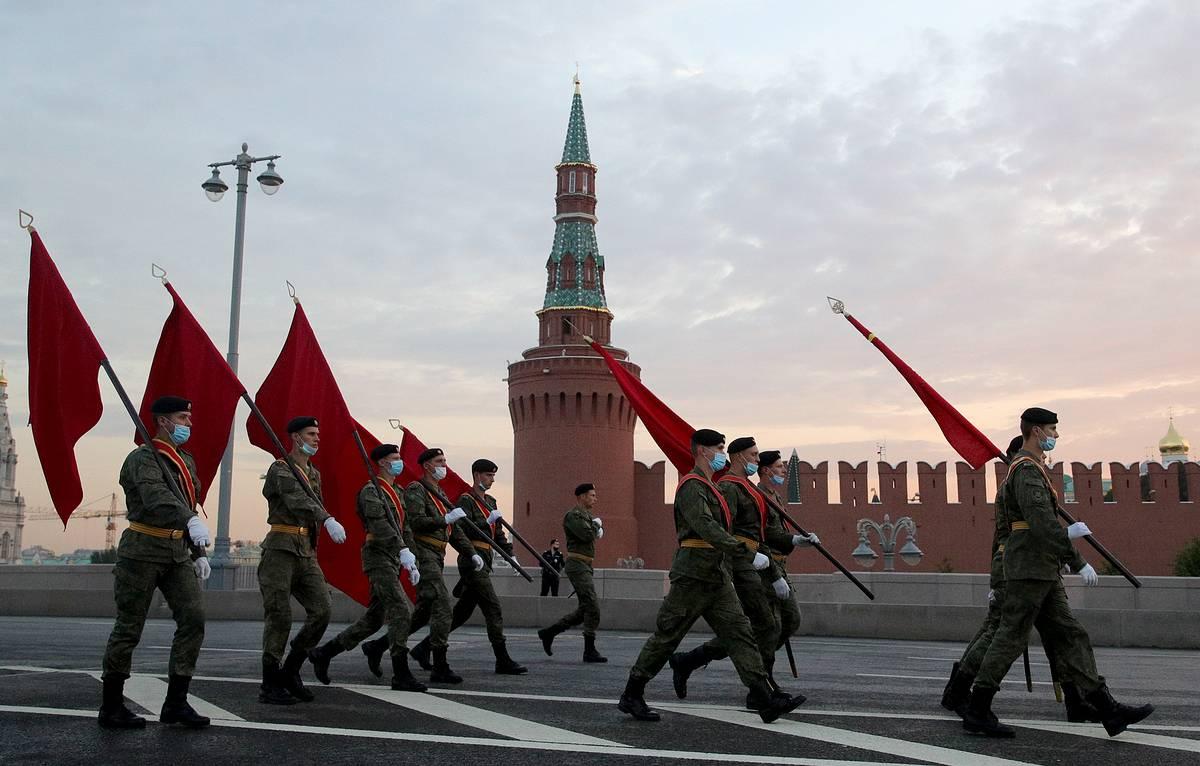 парад победы 45 года