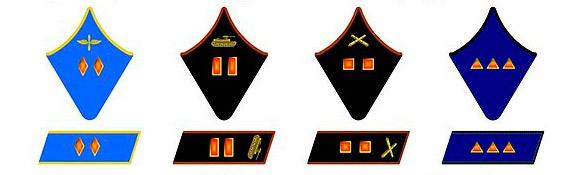 воинские звания ссср до 1943