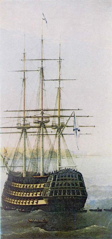 кормовая часть корабля