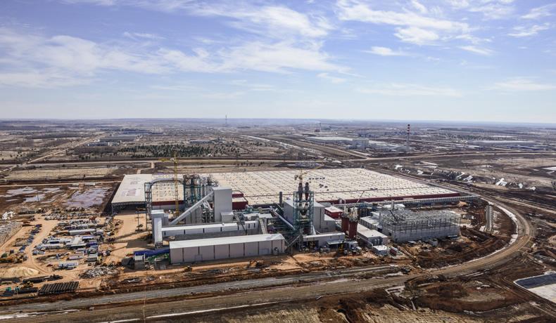 самый большой завод в мире по площади