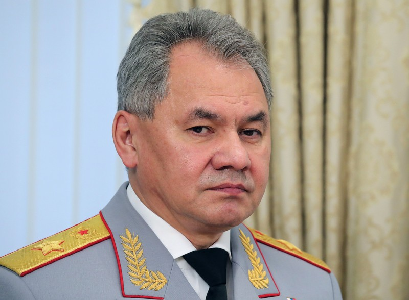 министр обороны шойгу