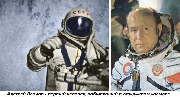 первый космонавт вышедший в открытый космос