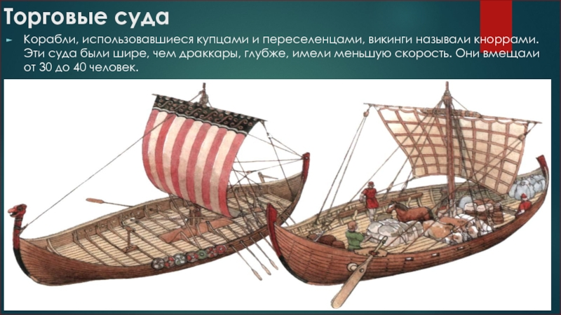 на чем плавали викинги