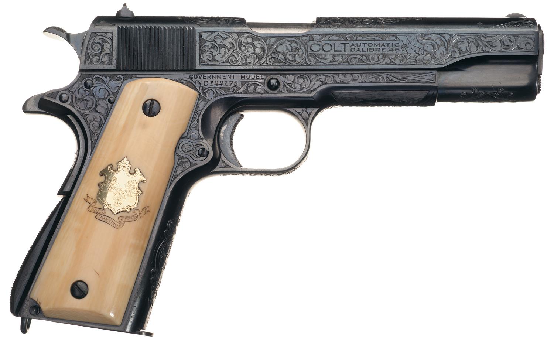 военные пистолеты