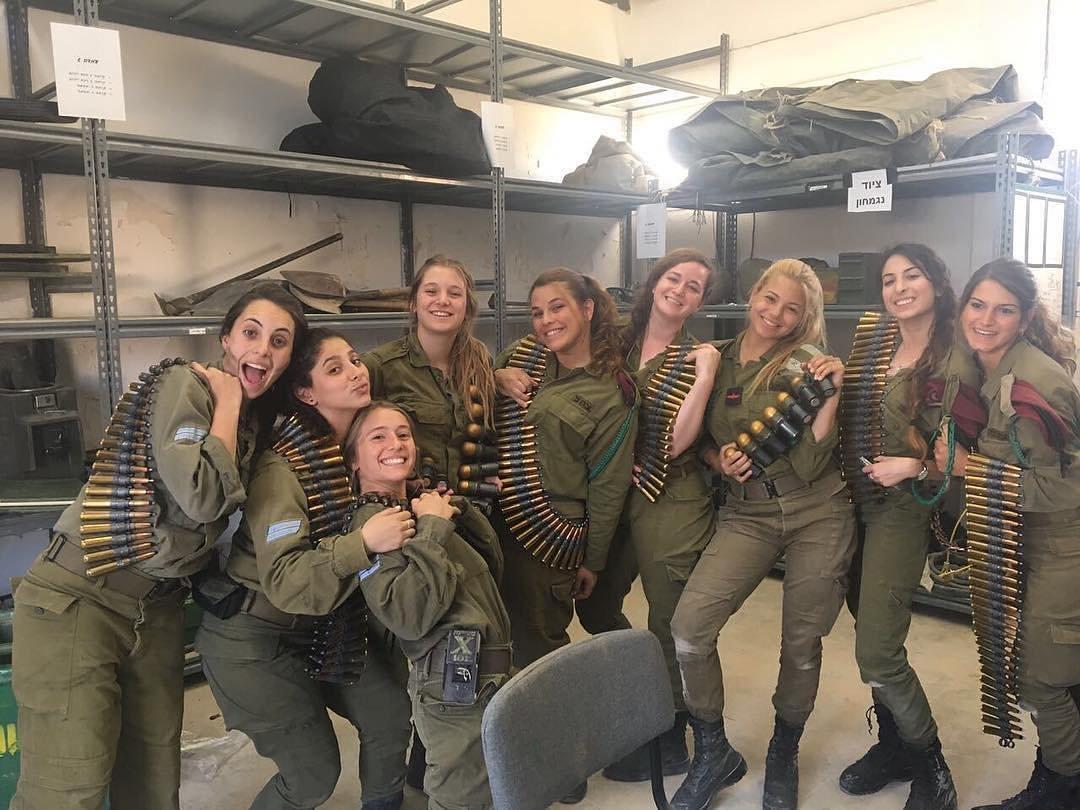армия израиля девушки